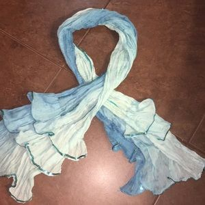 Accessories - Sequenced ruffle scarf/wraps/hijab